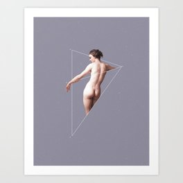 NOT Venus Bathing Art Print