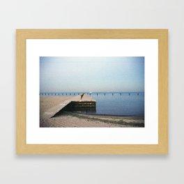 Chicago Lakeside Framed Art Print