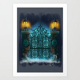 The Gate by Topher Adam 2017 Art Print