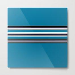 Classic Polo Stripe  Metal Print