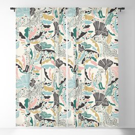 Surreal Wilderness / Colorful Jungle Blackout Curtain