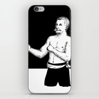boxer iPhone & iPod Skins featuring Boxer by Moose van Papendorp
