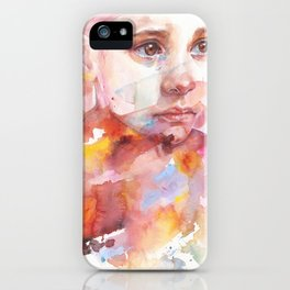 don't worry about it, you're a flower iPhone Case