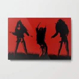 Dancing RED Metal Print