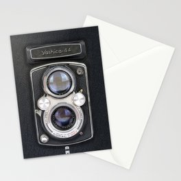 Vintage Camera Yashica 44 Stationery Cards