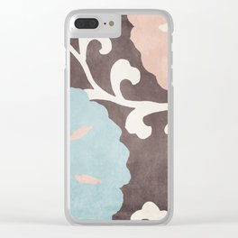 Umbrella Skies II Clear iPhone Case