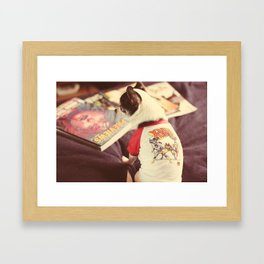 I'm a mutant too.  Framed Art Print