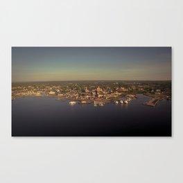 New London Sunrise Canvas Print