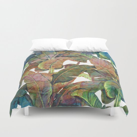Palm II Duvet Cover