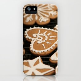 Holiday Iced Cookies iPhone Case