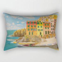 chinque terre Rectangular Pillow