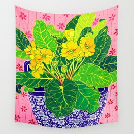 Primula Wall Tapestry