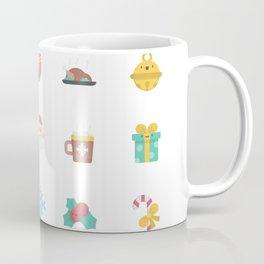 CUTE CHRISTMAS HOLIDAYS WINTER PATTERN Coffee Mug