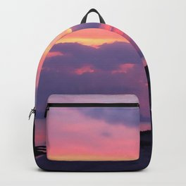 Island sunset Backpack