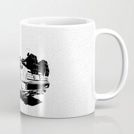 DeLorean / BW Coffee Mug