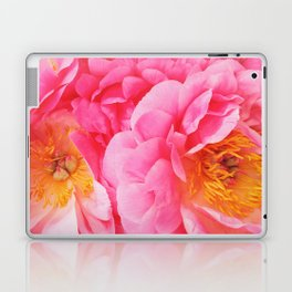 Hot Pink Peony Laptop & iPad Skin