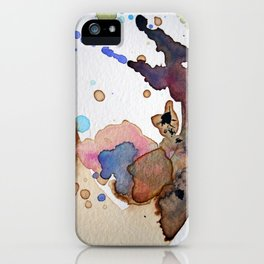 Mapping Air iPhone Case