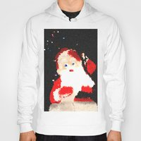 santa Hoodies featuring Santa  by Isa Fett