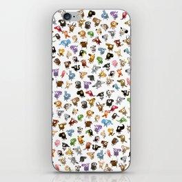Bean Animals iPhone Skin