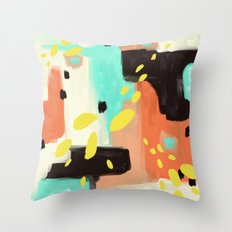 Wait For More Throw Pillow