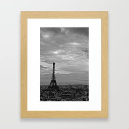 The Triomphe of Eiffel Framed Art Print