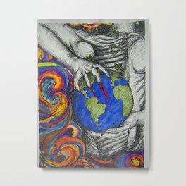 Society Metal Print
