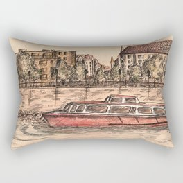 Budapest Art Rectangular Pillow