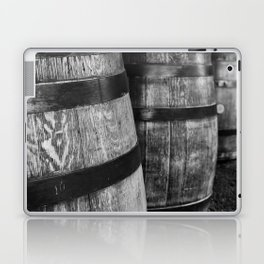 Wine Barrels in San Luis Obispo Laptop & iPad Skin