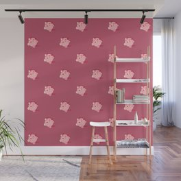 The cutest evil demon ever! pattern Wall Mural