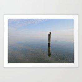 Solitude, St Clements Island Art Print