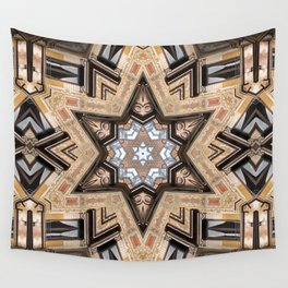 Architectural Star of David Wall Tapestry