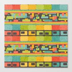 Retro Overload Canvas Print