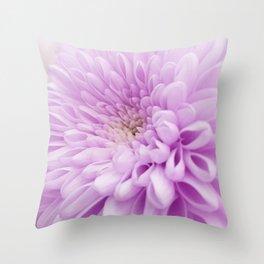 Close up Dahlia 15 Throw Pillow