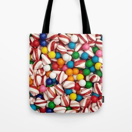 Peppermints and Gumballs Tote Bag