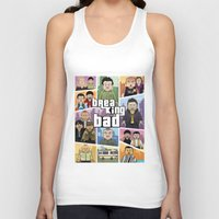 gta Tank Tops featuring Lego Gta Mashup Breaking Bad by Akyanyme