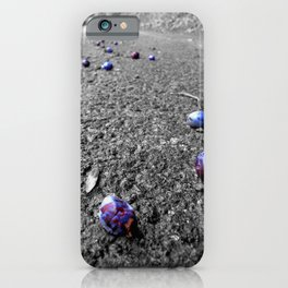 Berries On The Road Herefordshire English Countryside iPhone Case
