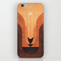 titan iPhone & iPod Skins featuring Titan - Lakes of Titan by Fabled Creative