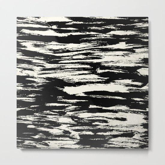 Brush Stripe 2 Metal Print