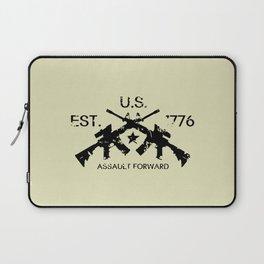 M4 Assault Rifles - U.S. Est. 1776 Laptop Sleeve