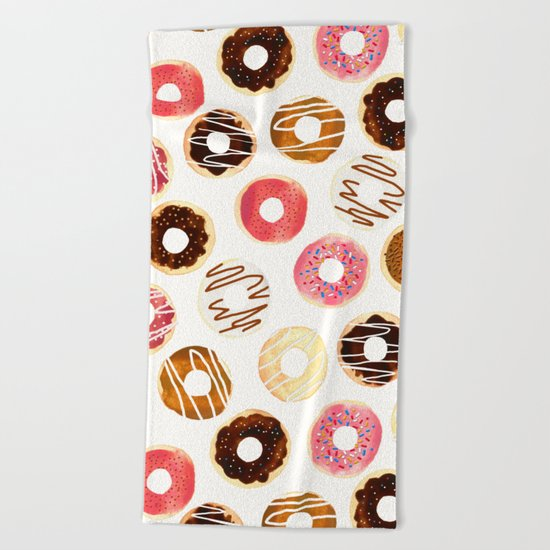 Donuts For Days Beach Towel