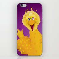 muppets iPhone & iPod Skins featuring Big Bird - Muppets Collection by Bryan Vogel