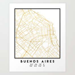 Argentina Art Prints Society - Argentina map to print