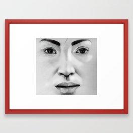 Untitled (Face Number 3) Framed Art Print