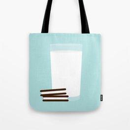 #25 Milk and Cookies Tote Bag