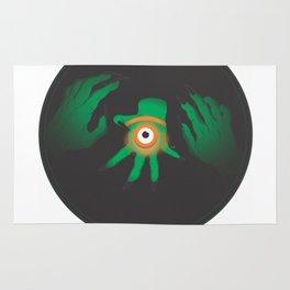 the graeae eye Rug