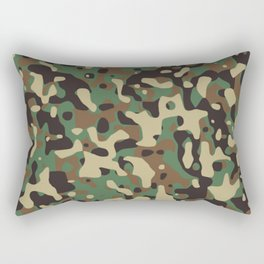 Military camouflage pattern Rectangular Pillow