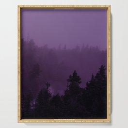 Purple Fog Serving Tray