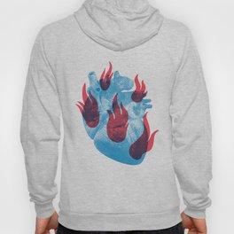 Heart in flames Hoody