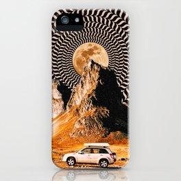 Illusionary Car Trip iPhone Case