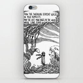 William Blake Illustration iPhone Skin